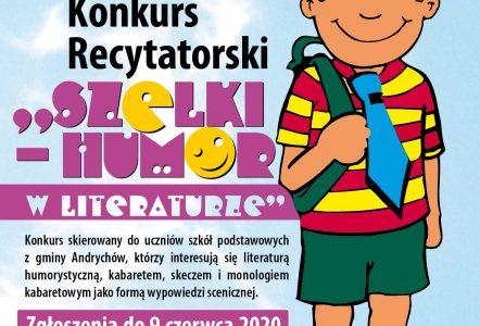 Konkurs recytatorski – on – line!