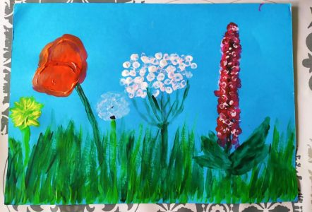 Wiosenna łąka klasy drugiej